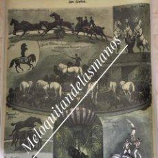 Carteles Espectáculos: ESPECTACULAR CARTEL ANTIGUO DE CIRCO DE GRAN FORMATO (REPRODUCCIÓN). Lote 193804447
