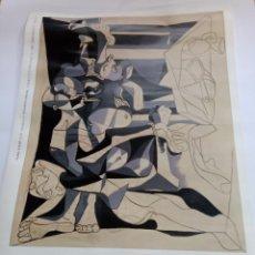 Carteles Espectáculos: CARTEL PICASSO. Lote 193816606