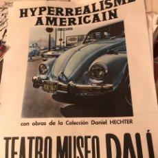 Carteles Espectáculos: CARTEL TEATRO MUSEO DALÍ (SEPTIEMBRE - OCTUBRE 1974). Lote 194246158