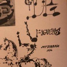 Carteles Espectáculos: CARTEL TEATRO MUSEO DALÍ FIGUERAS 1974. Lote 194246293