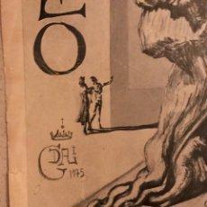 Carteles Espectáculos: CARTEL ANTIGUO 1975 INAGURACIÓN MUSEO DALÍ. Lote 194281012