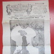 Carteles Espectáculos: CARTEL CIRCO GRAN CIRCO MARAVILLAS ALBACETE HERMANOS RIQUELME C60. Lote 194407161