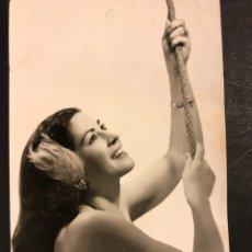 Carteles Espectáculos: FOTO CON AUTÓGRAFO DE PINITO DEL ORO.CIRCO ESPAÑOL 14 X 9 CM. Lote 194906473