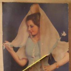 Carteles Espectáculos: PRECIOSO CARTEL PEQUEÑO EN CARTON, CUPLE AÑOS 40. Lote 194932577