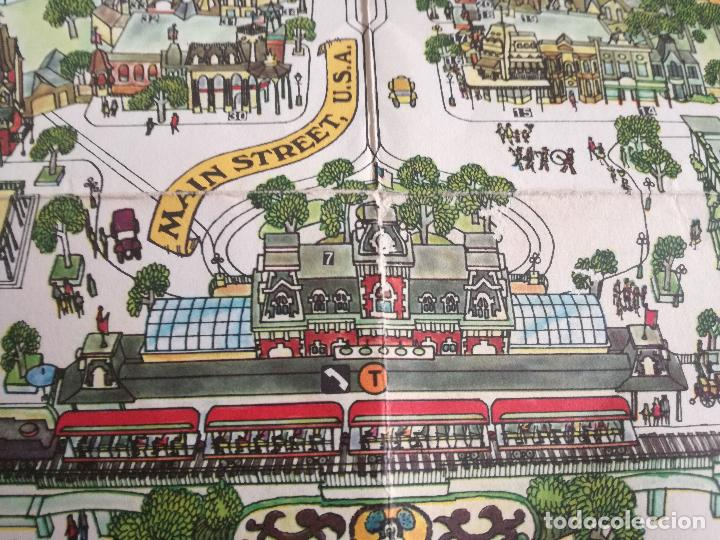 Carteles Espectáculos: MAPA GUIA PARQUE ATRACCIONES MAGIC KINGDOM OF WALT DISNEY WORLD AÑOS 70 - Foto 5 - 195283368