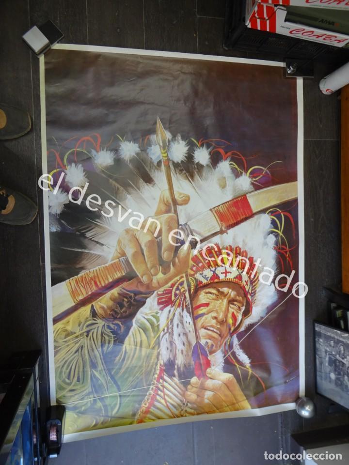 Carteles Espectáculos: CIRCO. Gran cartel formato 140 x 100 ctms. Muy decorativo. Años 80-90s. Sin imprimir circo - Foto 2 - 195868822