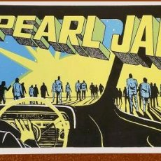 Affissi Spettacoli: CARTEL DE - PEARL JAM - AÑO 1998 VANCOUVER AMES ORIGINAL CASI NUEVO RARO -TAMAÑO 59 X 24,5 CMS. Lote 214441637