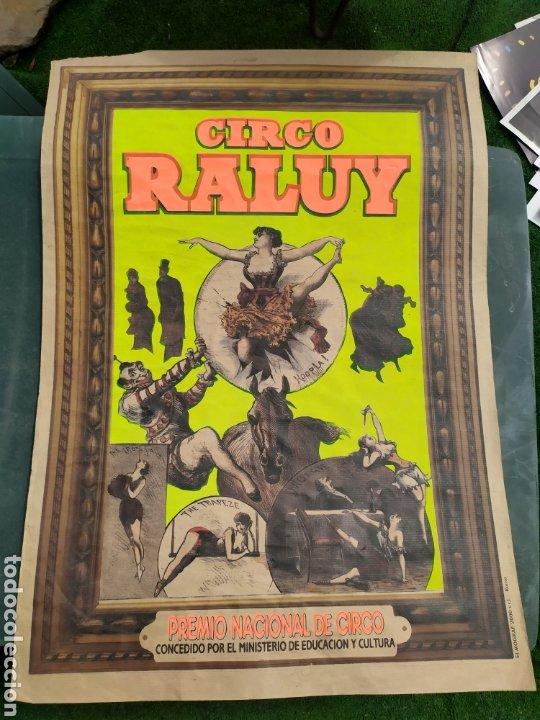 CIRCO RALUY (Coleccionismo - Carteles Gran Formato - Carteles Circo, Magia y Espectáculos)