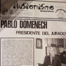 Carteles Espectáculos: MAGIA . CONGRESO MÁGICO NACIONAL DE SITGES 1983. Lote 207449260