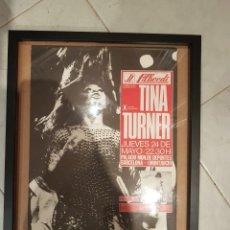 Carteles Espectáculos: CARTEL ORIGINAL TINA TURNER 1979 BARCELONA. Lote 209045738