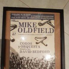 Carteles Espectáculos: CARTEL ORIGINAL MIKE OLDFIELD BARCELONA 1.979. Lote 209046500