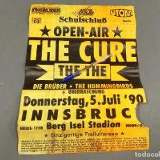 Carteles Espectáculos: CARTEL O POSTER DEL CONCIERTO DE THE CURE - OPE AIR - ALEMNIA JULIO 1990 CONCERT - INSBRUCK. Lote 209205417