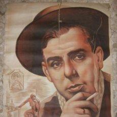 Carteles Espectáculos: 1953 CARTEL DE MANOLO CARACOL FLAMENCO CINE 100 X 70 CM.. Lote 212530445