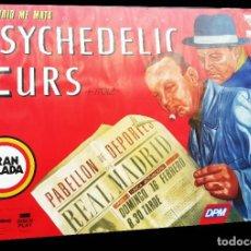 Carteles Espectáculos: CARTEL DE ÓSCAR MARINÉ - THE PSYCHEDELIC FURS - 1986. Lote 215250627