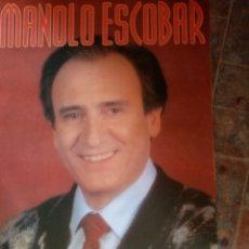 Affiches Spectacles: CARTEL DE MANOLO ESCOBAR. Lote 215723948