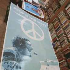 Carteles Espectáculos: PEOPLE FOR PEACE. LENNON, JOHN. PYRAMID. UK. 2009. 92X61 CM.. Lote 221552013