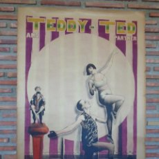 Carteles Espectáculos: CARTEL CIRCO.TEDDY -TED AND PARTENERS.REF107. Lote 221620106