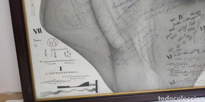 Carteles Espectáculos: Cartel original II FESTIVAL INTERNACIONAL DE ORGANO catedral de leon 1985 , dedicado y firmado - Foto 4 - 222246367