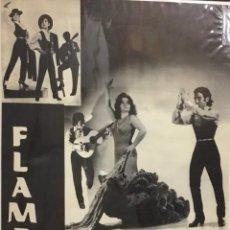 Carteles Espectáculos: FLAMENCO. CLEMEN AMAYA Y EL PEQUE SEVILLANO 1977. PUBLICIDAD GRÁFICA FOTO ALFREDO.. Lote 225775205