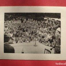 Carteles Espectáculos: PROPAGANDA DE CIRCO MALAGA Y PARTENAIRES FOTO ACTUACION. Lote 235651790