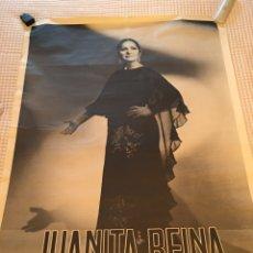 Carteles Espectáculos: JUANITA REINA - CARTEL ORIGINAL. Lote 240426020