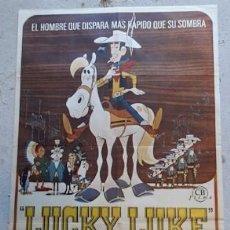 Carteles Espectáculos: CARTEL DE CINE LUCKY LUKE, DE 1972. Lote 243574785