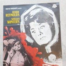 Carteles Espectáculos: CARTEL DE CINE ¿QUÉ LE PASA A HELEN?, DE 1972. Lote 243576600