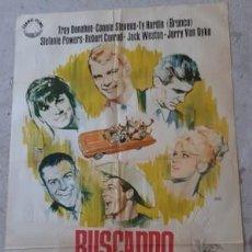 Carteles Espectáculos: CARTEL DE CINE BUSCANDO MILLONARIO, DE 1964. Lote 243578600