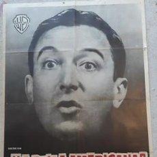 Carteles Espectáculos: CARTEL DE CINE ¿LA BELLA AMERICANA? SI...¡LA BELLA AMERICANA!, DE 1962. Lote 243579760
