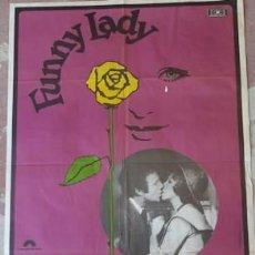 Carteles Espectáculos: CARTEL DE CINE FUNNY LADY, DE 1975. Lote 243580100
