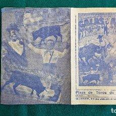Carteles Espectáculos: CARTEL PLAZA TOROS DE VALENCIA (1968) GALAS DE ARTE, LOS CALES, DON CANUTO... - RW. Lote 245056790