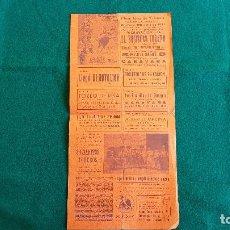 Carteles Espectáculos: CARTEL PLAZA TOROS DE VALENCIA (1961) EL BOMBERO TORERO Y LOS 8 ENANITOS - RW. Lote 245066325