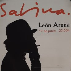 Affiches Spectacles: CARTEL JOAQUIN SABINA CONCIERTO 2010 EN LEON. Lote 251484980