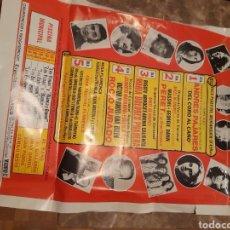 Carteles Espectáculos: CARTEL DE LAS X FIESTAS CONMEMORATIVAS FUNDACIÓN LA CAROLINA. MADRID 1976. Lote 277855893