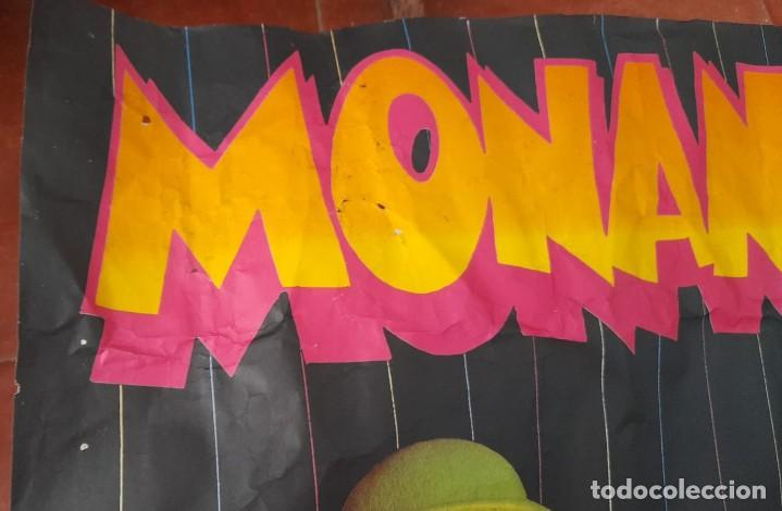 Carteles Espectáculos: CARTEL DE MONANO Y SU BANDA, LOS NUEVOS ÍDOLOS DE LOS NIÑOS, AÑOS 80 - Foto 2 - 289691663
