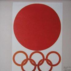 Coleccionismo deportivo: JUEGOS OLÍMPICOS 1956 -1964 ( COLECCIÓN 6 CARTELES). . Lote 27254130