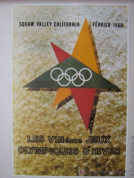 Coleccionismo deportivo: JUEGOS OLÍMPICOS 1956 -1964 ( COLECCIÓN 6 CARTELES). - Foto 5 - 27254130