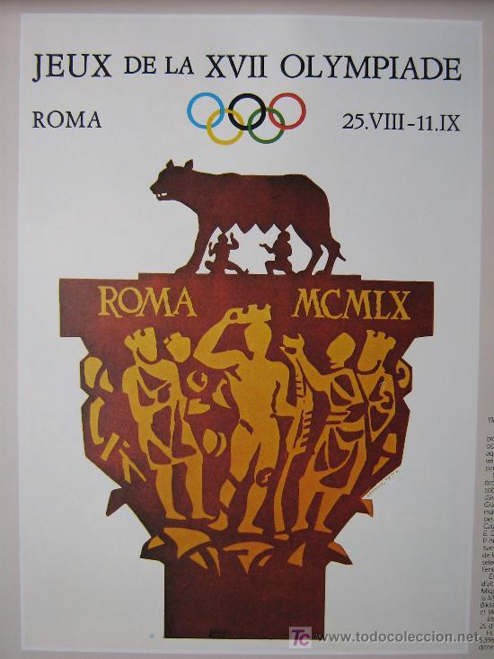 Coleccionismo deportivo: JUEGOS OLÍMPICOS 1956 -1964 ( COLECCIÓN 6 CARTELES). - Foto 6 - 27254130