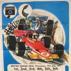 Coleccionismo deportivo: CARTEL GRAND PRIX 1971 AUTOMOVILES FORMULA 1. Lote 26885040