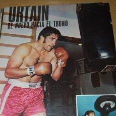 Coleccionismo deportivo: BOXEO : PÓSTER DE JOSÉ MANUEL IBAR, URTÁIN. 1971. Lote 9412491