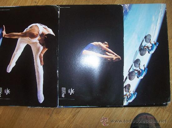 Coleccionismo deportivo: Lote de 27 carteles Barcelona 92 Juegos de la XXV Olympiada 44x31 cms cartulina - Foto 4 - 24539002
