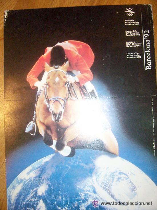 Coleccionismo deportivo: Lote de 27 carteles Barcelona 92 Juegos de la XXV Olympiada 44x31 cms cartulina - Foto 5 - 24539002