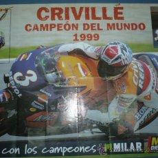 Coleccionismo deportivo: CARTEL DE MOTOCICLISMO DEPORTIVO. Lote 10830809