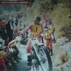Coleccionismo deportivo: CARTEL DE MOTOCICLISMO DEPORTIVO. Lote 10830815