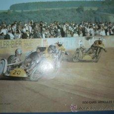 Coleccionismo deportivo: CARTEL DE MOTOCICLISMO DEPORTIVO SIDE-CARS. Lote 10830824