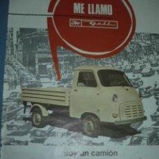 Coleccionismo deportivo: CARTEL DEPORTIVO DEL CAMION ISO. Lote 10859174