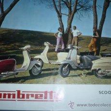 Coleccionismo deportivo: CARTEL DEPORTIVO LAMBRETTA SCOOTERLINEA 125-150. Lote 10860765
