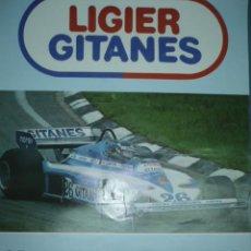 Coleccionismo deportivo: CARTEL DEPORTIVO GRAN PREMIO DE SUECIA 1º J. LAFFITE. Lote 10860822