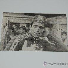 Coleccionismo deportivo: MIGUEL INDÚRAIN : RECORTE DE 1988. Lote 12705025