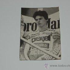 Coleccionismo deportivo: MOTOCICLISMO : RECORTE DE ALEX CRIVILLÉ. 1988. Lote 12754572